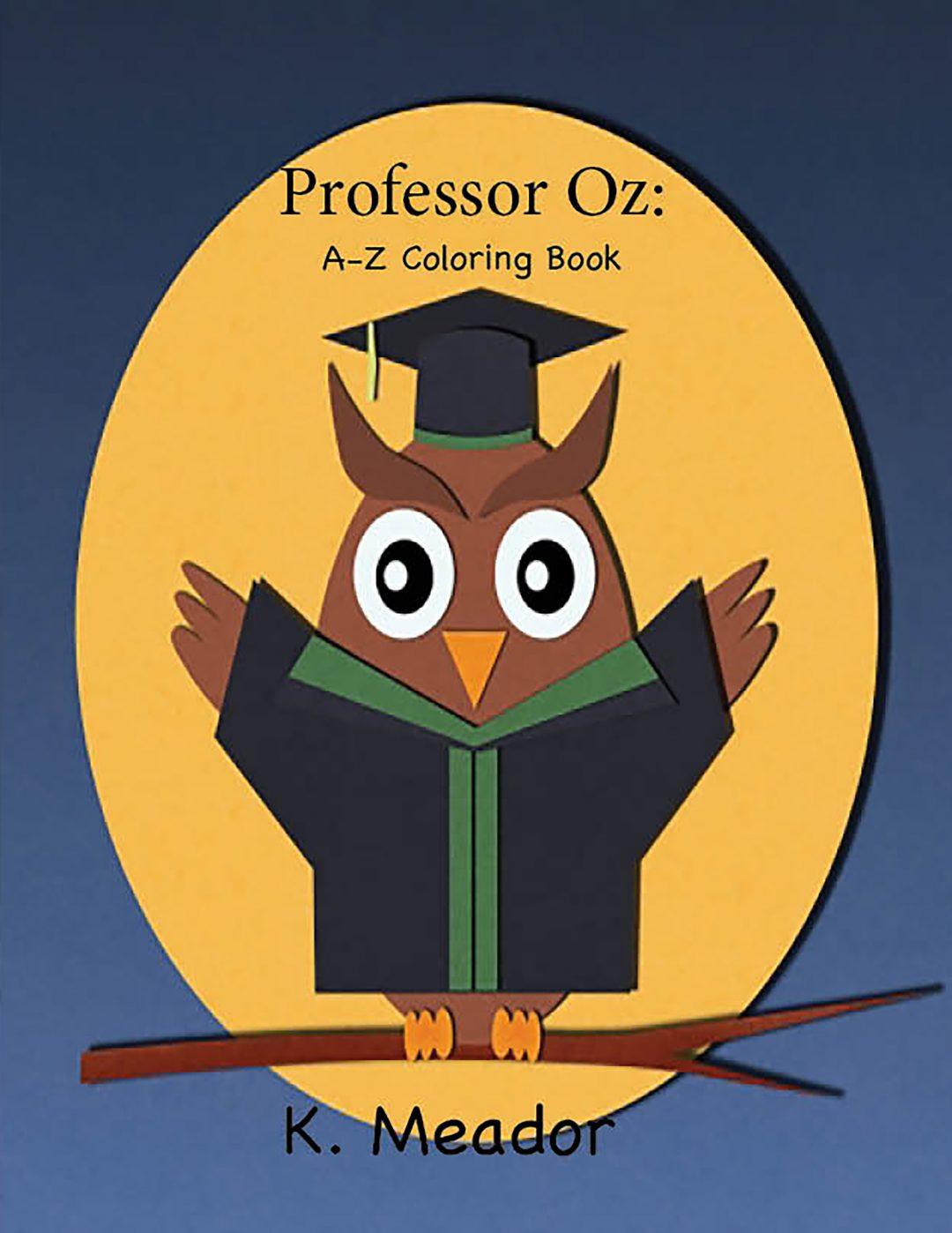 Professor Oz: A-Z Coloring Book